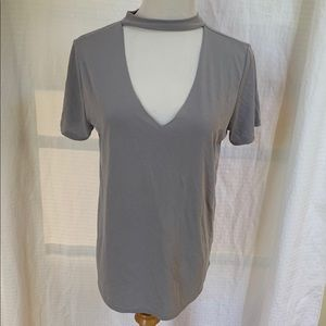 Size small top by lavender fields
